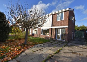 Thumbnail 3 bed semi-detached house for sale in Penlee Close, Goldington, Bedford