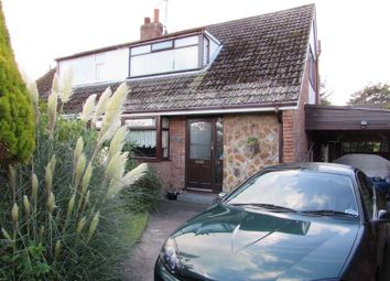 Thumbnail 3 bed semi-detached bungalow for sale in The Crescent, Preesall, Poulton-Le-Fylde