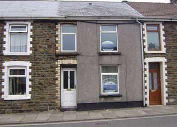 Thumbnail 3 bed terraced house to rent in Ogwy Street, Nantymoel, Bridgend