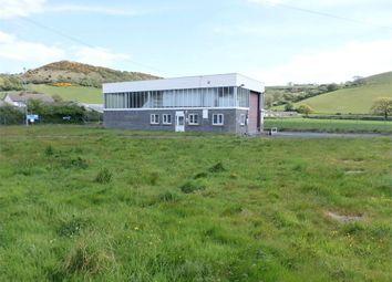 Thumbnail Commercial property for sale in Former Hgv Testing Station, Llanrhystud, Ceredigion