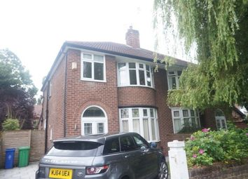 Thumbnail 3 bed property to rent in Ferndene Road, Didsbury