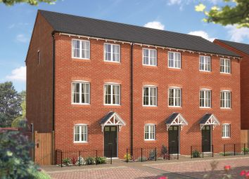 "Thumbnail 3 bedroom town house for sale in ""The Winchcombe"" at Tixall Road, Tixall, Stafford"