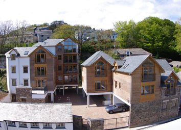 Thumbnail 2 bedroom flat to rent in The Creekside, West Looe, Cornwall
