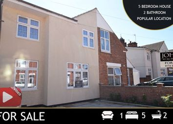 Thumbnail 5 bed semi-detached house for sale in Harrison Road, Leicester