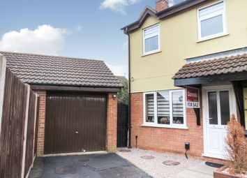 Thumbnail 3 bedroom semi-detached house for sale in Cheviot Road, Aylestone, Leicester