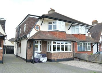 Thumbnail 3 bed semi-detached house for sale in Kingston Road, Ewell, Epsom