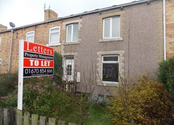 Thumbnail 3 bed terraced house to rent in Rosalind Street, Ashington