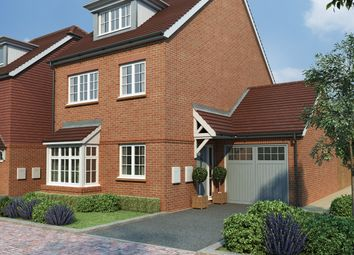 Thumbnail 4 bed detached house for sale in Tudeley Lane, Tonbridge