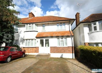 Thumbnail 4 bed semi-detached house for sale in Lawrence Avenue, Mill Hill, London