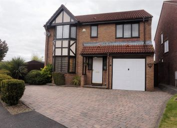 Thumbnail 4 bed detached house for sale in The Meadows, Cardiff
