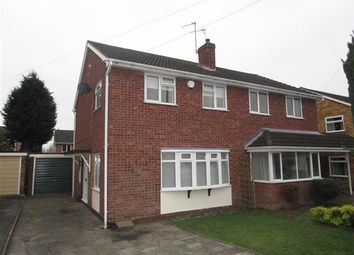 Thumbnail 3 bed property to rent in Oakshaw Close, Coven, Wolverhampton