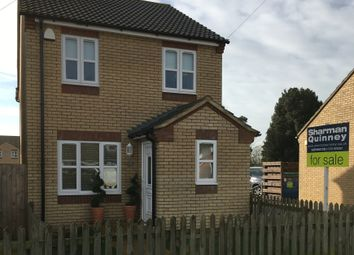 Thumbnail 3 bed detached house for sale in School Road, Newborough, Peterborough