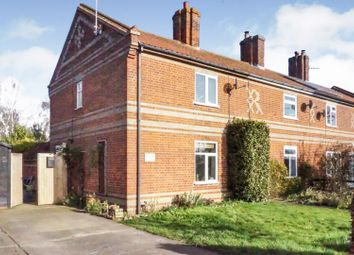 Thumbnail 2 bed end terrace house for sale in Wash Lane Corner, Stowmarket