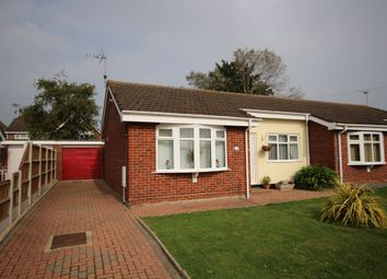 Thumbnail 2 bed semi-detached bungalow for sale in Breydon Way, Caister-On-Sea, Great Yarmouth
