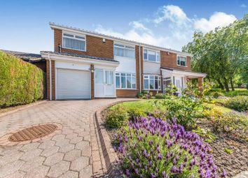 Thumbnail 4 bedroom semi-detached house for sale in Jonquil Close, Chapel Park, Newcastle Upon Tyne
