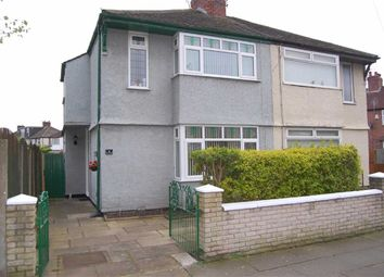 Thumbnail 3 bed property for sale in Derwent Road, Crosby, Liverpool