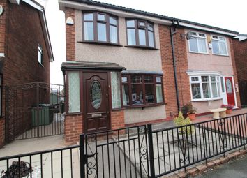 Thumbnail 3 bed semi-detached house for sale in Edale Road, Leigh