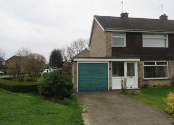 Thumbnail 3 bed semi-detached house for sale in Louthe Way, Sawtry, Huntingdon