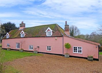 Thumbnail 4 bedroom farmhouse for sale in Links Farm House, Beccles Road, Thurlton, Norwich