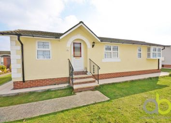 Thumbnail 2 bed mobile/park home for sale in Creek Road, Canvey Island