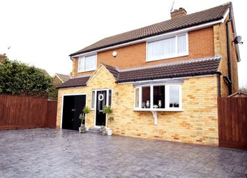 Thumbnail 4 bedroom detached house for sale in Hall Road, Rolleston-On-Dove, Burton-On-Trent, Staffordshire