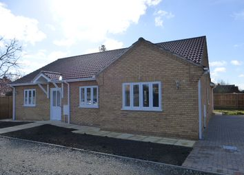 Thumbnail 4 bed detached bungalow for sale in Elliott Road, March