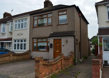Thumbnail 3 bed end terrace house to rent in Jersey Road, Rainham, Essex