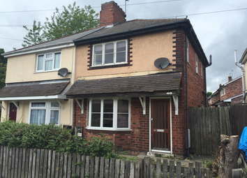 Thumbnail 2 bedroom semi-detached house to rent in Castlecroft Road, Bilston
