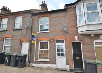 Thumbnail 2 bed terraced house to rent in Ashton Road, Luton