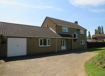 Thumbnail 4 bed detached house for sale in North Green, Coates, Peterborough