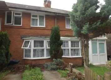 Thumbnail 2 bed terraced house for sale in Honiton Crescent, Northfield, Birmingham, West Midlands