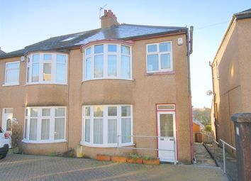 Thumbnail 3 bed semi-detached house for sale in North Down Road, Beacon Park, Plymouth