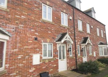 Thumbnail 3 bed town house to rent in Horsley Road, Gainsborough