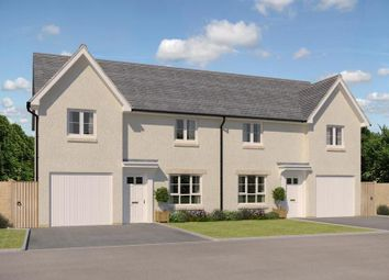"Thumbnail 3 bed semi-detached house for sale in ""Ravenscraig"" at Kirkton North, Livingston"