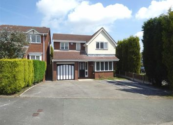Thumbnail 4 bedroom detached house for sale in Calrofold Drive, Waterhayes, Newcastle-Under-Lyme