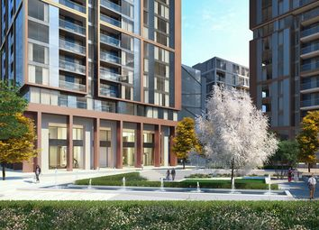Thumbnail 3 bed flat for sale in Maine Tower, Harbour Central, Lighterman's Road, London