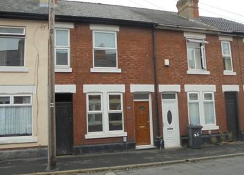 Thumbnail 2 bed terraced house to rent in Arnold Street, Derby