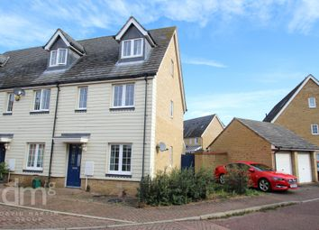 3 bed end terrace house for sale in Radvald Chase, Stanway, Colchester CO3