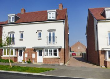 Thumbnail 4 bed town house for sale in Benjamin Gray Drive, Littlehampton