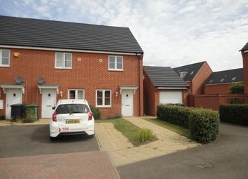 Thumbnail 2 bed end terrace house to rent in Saturn Drive, Cardea, Peterborough