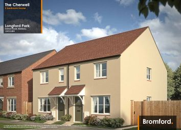 Thumbnail 2 bed semi-detached house for sale in Longford Park, Bodicote, Banbury