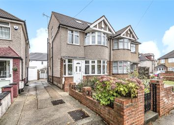 Thumbnail 4 bed semi-detached house for sale in Danemead Grove, Northolt, Middlesex