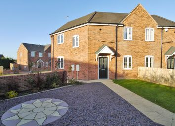 Thumbnail 3 bed semi-detached house for sale in Chesterfield Road, Arkwright Town, Chesterfield
