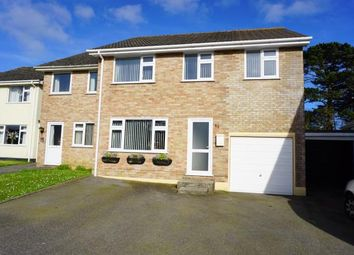 Thumbnail 4 bed semi-detached house for sale in St. Blazey, Par, Cornwall