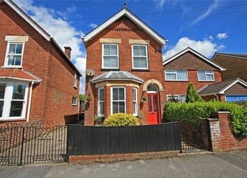 Thumbnail 3 bed detached house for sale in Middle Road, Lymington, Hampshire