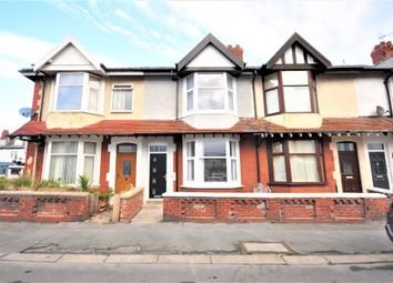 Thumbnail 3 bedroom terraced house for sale in Newcastle Avenue, Blackpool, Lancashire