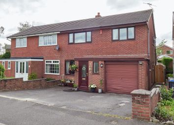 Thumbnail 3 bedroom semi-detached house for sale in Farmside Lane, Biddulph Moor, Staffordshire