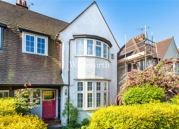 Thumbnail 4 bedroom semi-detached house for sale in Wentworth Road, London