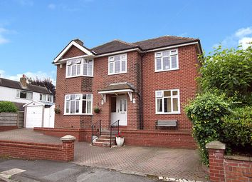 Thumbnail 5 bed detached house for sale in Hollow Drive, Warrington