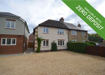 Thumbnail 3 bed semi-detached house to rent in Station Road, Great Billing, Northampton